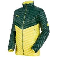 Mammut Broad Peak Light IN Jacket Men dark teal/canary/canary