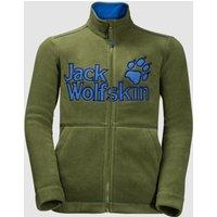Jack Wolfskin Vargen Jacket Kids cypress green