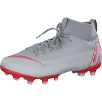 Nike Jr Mercurial Superfly VI Academy MG GS Youth wolf grey/pure platinum/metallic silver/light crimson