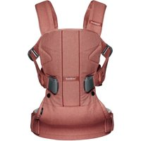 Babybjorn Carrier One Cotton Mix Terracotta Pink