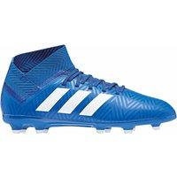 adidas Boys Nemeziz 18.3 Fg Shoes, FTWR WhiteFootball Blue, 3 UK 3UK Child