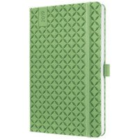 sigel Weekly Calendar Jolie 2019 Hard Cover A5 Spring Green