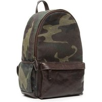ONA The Clifton waxed canvas camouflage fabric