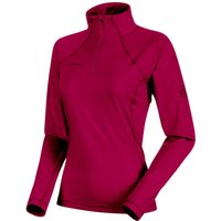 Mammut Snow ML Half Zip Pull Women beet