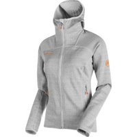 Mammut Eiswand Guide Midlayer Jacket hooded Women (2018) marble