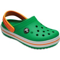 Crocs Crocband Clog grass green/white/blazing orange