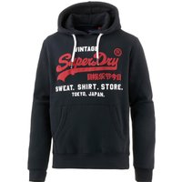 Superdry Sweat Shirt Shop Hoodie with Logo navy (M20004NS-98T)