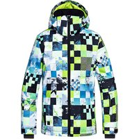 Quiksilver Mission Printed Youth Jkt lime green/money time