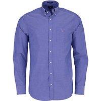 GANT Regular Broadcloth Hemd college blue (3046400-436)