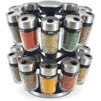 Cole & Mason Premium 20 Jar Herb & Spice Carousel