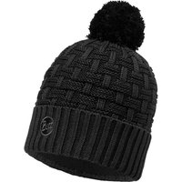 Buff Knitted & Polar Hat Airon black