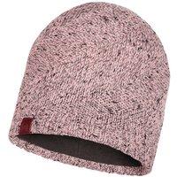 Buff Knitted & Band Polar Fleece Hat Arne Pale pink