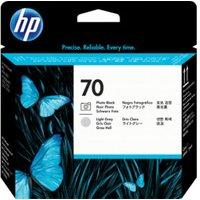 HP No. 70 (C9407A) Black+Grey