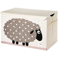 3 Sprouts Toy Chest 38x61x37cm Sheep