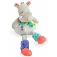 Doudou Tropicool - Hippo cuddly toy 30 cm