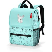 Reisenthel Backpack Kids cats and dogs mint