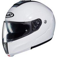 HJC C90 Metal Pearl White