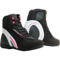 Dainese D1 Air Lady Boot Black/White/Pink