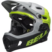 Bell Super DH Mips grey-green-black