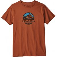 Patagonia Fitz Roy Scope Organic Cotton T-Shirt (39144) copper ore