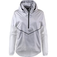 Nike Women's Hooded Running Jacket (AT1128) gunsmoke/white/black