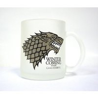 SD Toys Game Of Thrones Winter Is Coming Stark Glass Mug
