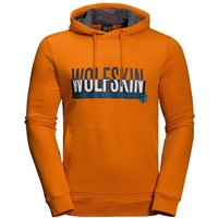 Jack Wolfskin Slogan Hoody Men desert orange