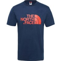 The North Face Men's S/S Easy Tee urban navy/fiery red