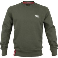 Alpha Industries Basic Sweater Small Logo olive (188307-142)