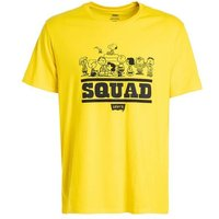 Levi's x Peanuts Graphic Tee squad cyber yellow