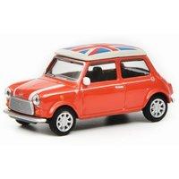 Schuco Mini Cooper Union Jack, red white, 1/64 (016700)