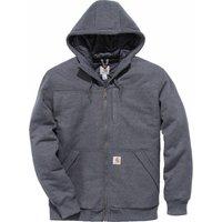 Carhartt Rockland Quilt-Lined Full-Zip Hooded Sweatshirt carbon heather (103312)