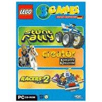 Lego: 3 Games - Racers 2 +Stunt Rally + Creator Knights Kingdom (PC)