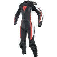 Dainese Assen 2pc Lady Suit Black/White/Red