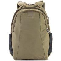 PacSafe MetroSafe LS350 Anti-Theft 15L backpack earth khaki