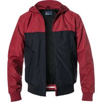 Fred Perry Hooded Panelled Jacket (J5515)