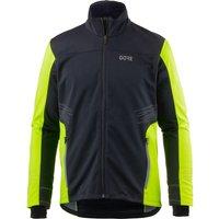 Gore R5 Gore Windstopper Jacket black/neon yellow