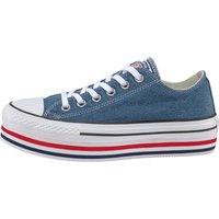 Idealo ES|Converse Chuck Taylor All Star Platform Ox mason blue/white/black