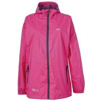 Trespass Qikpac Packaway Rain Jacket Pink
