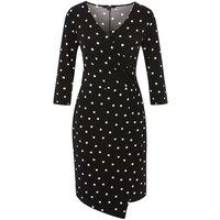 Comma Printed Dress (87.903.82.4985)