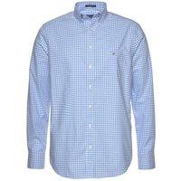 GANT Broadcloth Gingham Shirt capri blue (3046700-468)