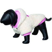 Nobby Dog Coat Teddy Creme Pink 23 cm