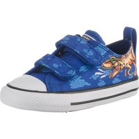 Converse Chuck Taylor All Star Dino's Beach Party Hook and Loop Low Top (764248C) blue/black/white