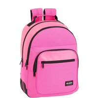 Safta School Backpack Blackfit8 pink 42 cm