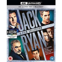 Jack Ryan Boxset (5 Films) (4K UHD + Blu-ray) [2018]