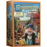 Z-Man Games Carcassonne - Ext. 5 - Maire & monastère (French)