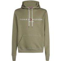 Tommy Hilfiger Organic Cotton Blend Logo Hoody dusty olive (MW0MW11599-LDY)