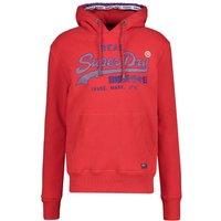 Superdry Sweatshirt Vintage Logo Racer Hood rot (M2000074A)