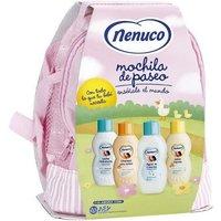 Idealo ES|Nenuco Backpack Set (EdC 200 ml + Sh 200 ml + SG 200 ml + BL 200 ml)