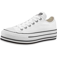 Idealo ES|Converse Chuck Taylor All Star Platform Low Top white/black/thunder